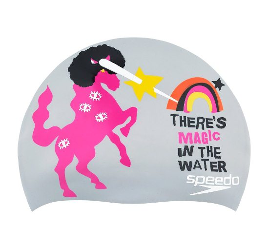 Speedo Unicorn Dream Silicone Swim Cap