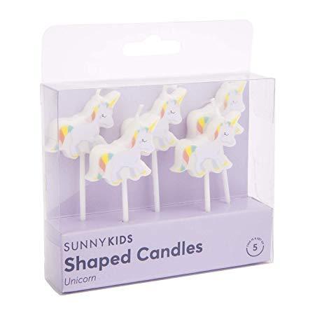 Sunnylife Birthday Cake Candles Unicorn  Amazon Co Uk  Kitchen & Home