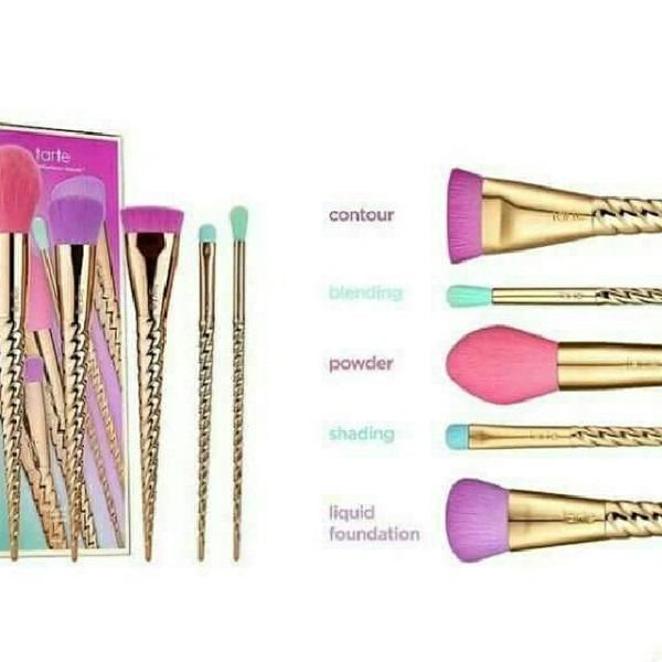 Tarte Unicorn Brush Set, Health & Beauty, Makeup On Carousell