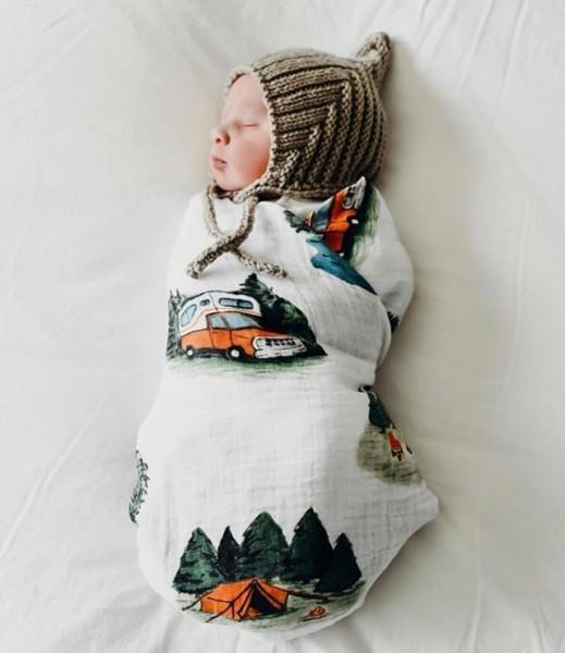 The Tiniest Little Happy Camper! @a Maternidade  Littleunicorn