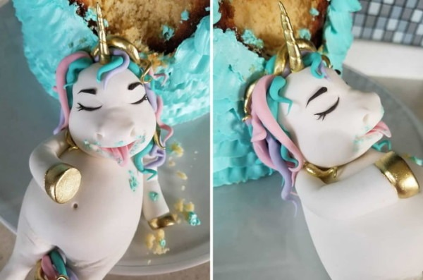 This Fat Unicorn Cake Is The Spirit Animal For Cake Lovers