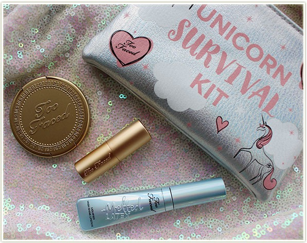 Too Faced Unicorn Survival Kit (review & Swatches)