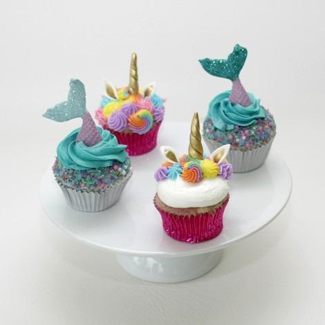 Unicorn And Mermaid Cupcakes