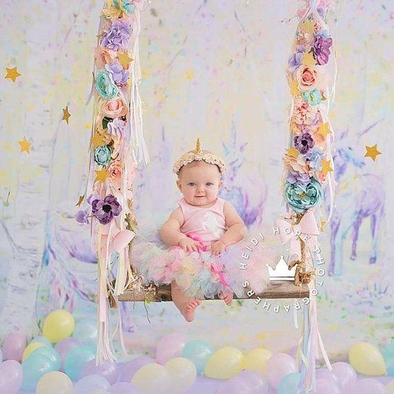 Unicorn Birthday Tutu Dress