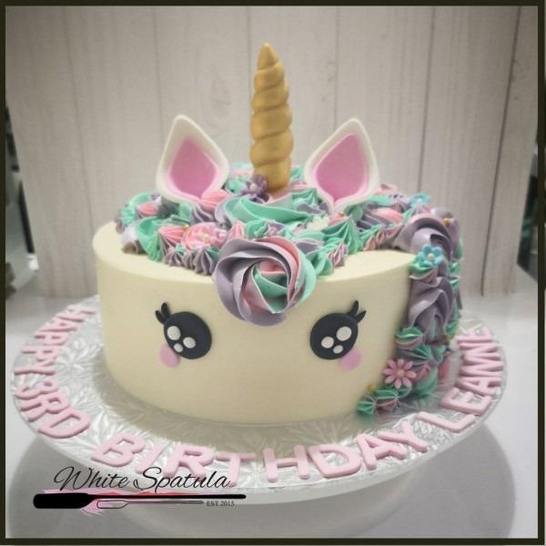 Unicorn Buttercream Cake At $70 00 Per Cake