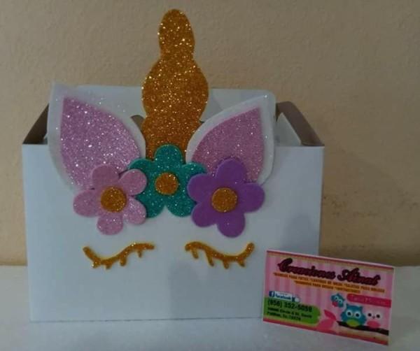 Unicorn Candy Box