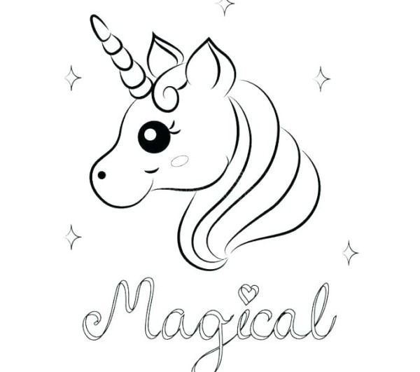 Unicorn Coloring Pages For Adults – Golfpachuca Com