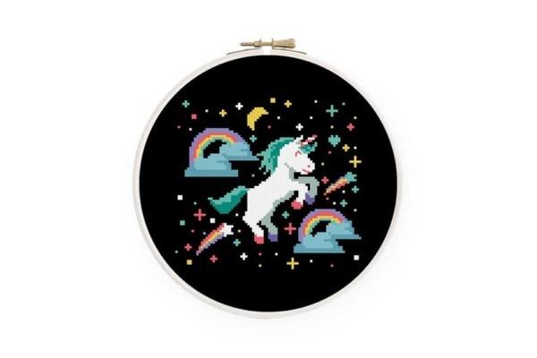 Unicorn Cross Stitch Pattern Baby Cross Stitch Gender