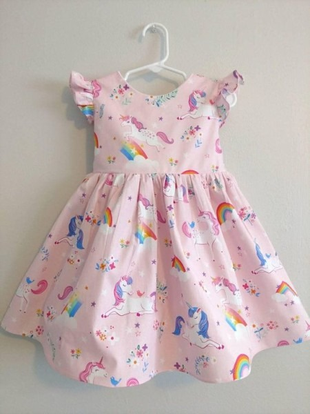 Unicorn Dress For Girls, Unicorn Dress, Unicorn Baby Dress