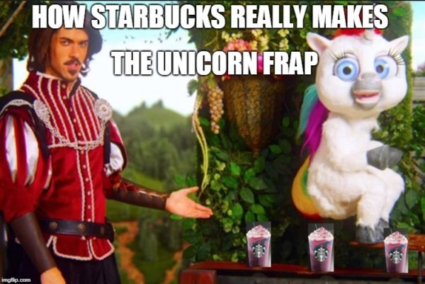 Unicorn Fraps Secret Recipe