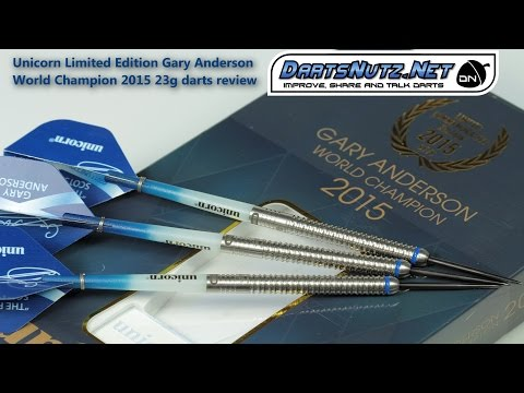 Unicorn Gary Anderson World Champion 2015 Limited Edition 23g
