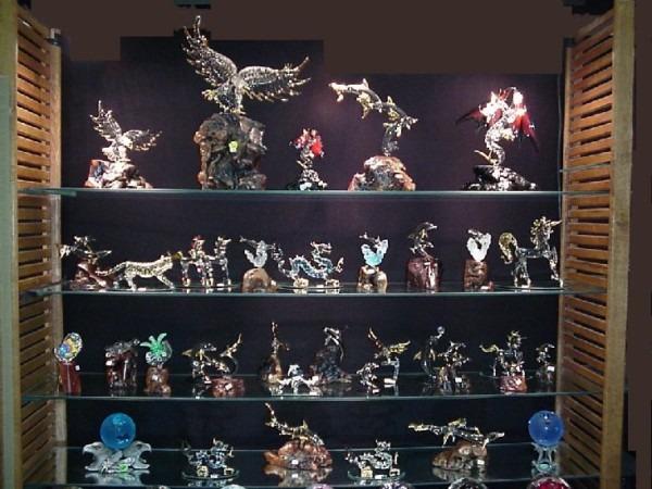 Unicorn Glass Blown Figurine