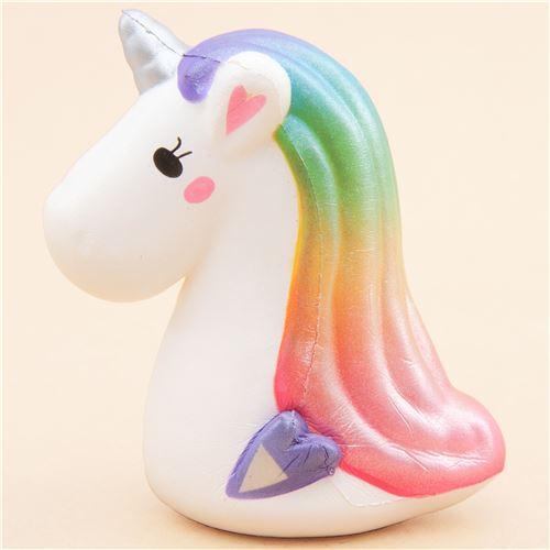 Unicorn Head Squishy By Toysboxshop