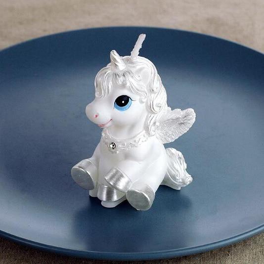 Unicorn Pegasus Shaped Fondant Cake Mold,candy Resin Molds, Candle