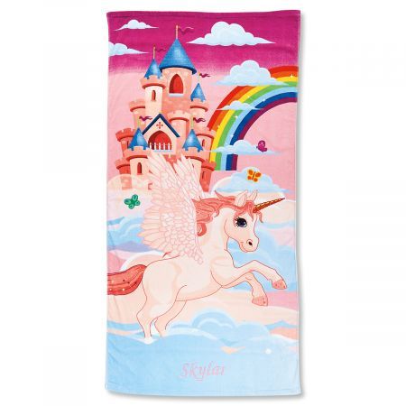 Unicorn Personalized Towel