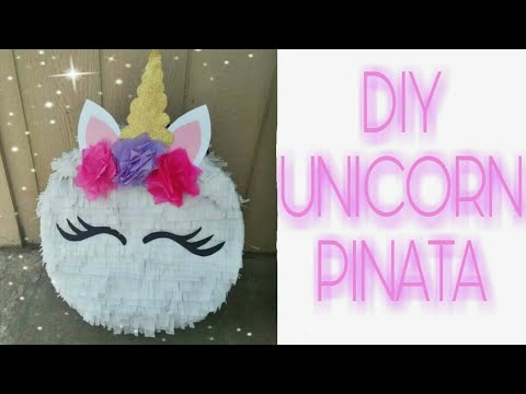 Unicorn Pinata Diy