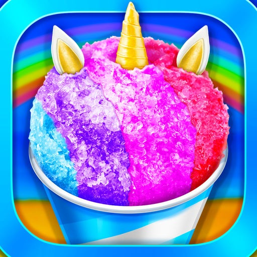 Unicorn Rainbow Snow Cone Desserts Maker By Dengzhi Liu
