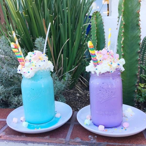 Unicorn Shakes At Créme & Sugar In Anaheim