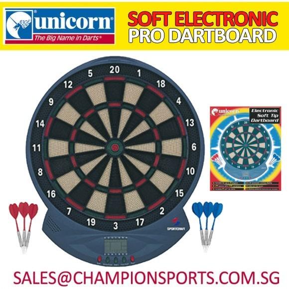 Unicorn Soft Electronic Pro Dartboard