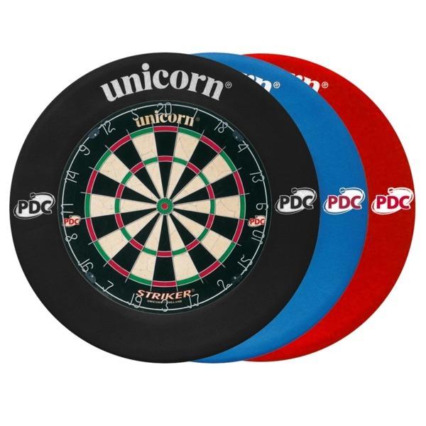 Unicorn Striker Home Darts Bristle Dartboard With Unicorn Pdc