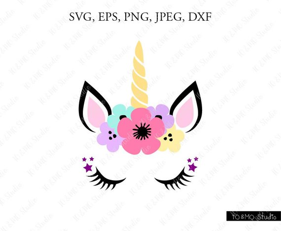 Unicorn Svg, Unicorn Head Svg, Unicorn Clip Art, Unicorn Face Svg