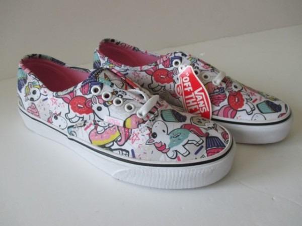 Vans Authentic Unicorn Donut Unicorns Skate Shoe For Sale Online