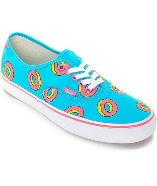 Vans Odd Future Authentic Scuba Blue Donut Shoes