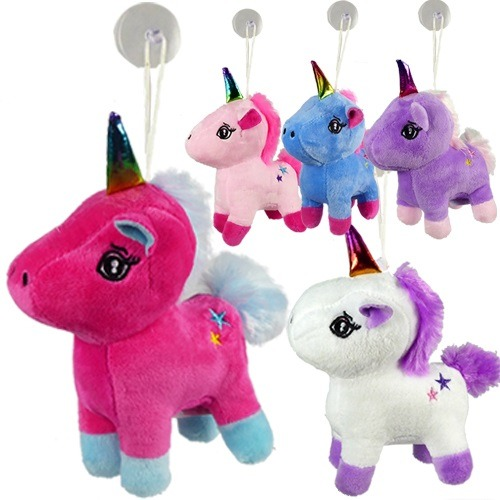 Window Hanging Pony Plush Unicorn 6  Stuffed Animals Bulk (pack Of