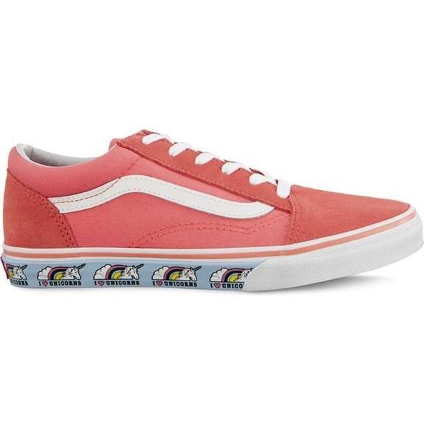 Women's Shoes Sneakers Vans Old Skool Ve0 Unicorn Strawberry Pink
