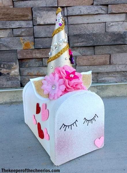 17 Unicorn Valentine Box Ideas