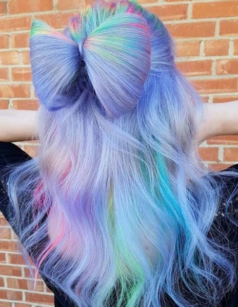 37 Cute Unicorn Hair Bow Bun Styles For 2018