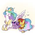 Filly Unicorn Princess Sparkle