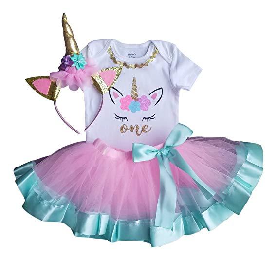 Amazon Com  1st Birthday Outfit Baby Girl Tutu