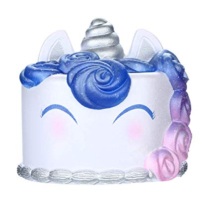 Amazon Com   Yliquor Jumbo Squishies Galaxy Unicorn Cake Toy Slow