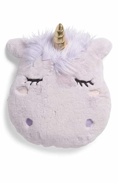 Amazon Com  American Kids Super Soft Lavender Unicorn Pillow Throw