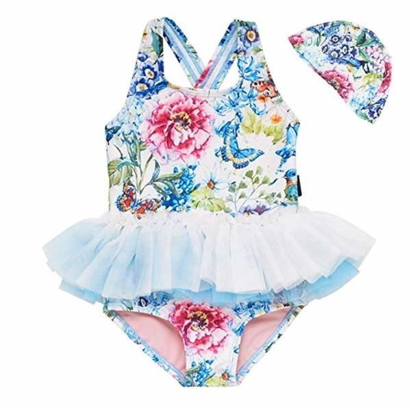 Amazon Com  Baby Toddler Girl Swimsuit Unicorn Tutu Skirt Swimwear