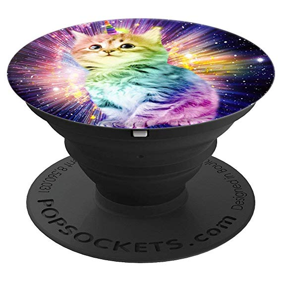 Amazon Com  Best Cool Cat Unicorn Popsocket Gift