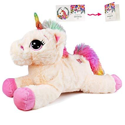 Amazon Com  Danirora Unicorn Stuffed Animal, 14 5  Unicorn Gifts