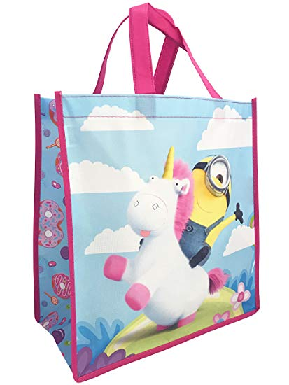 Amazon Com  Despicable Me Minion Made Unicorn Reusable Tote Bag
