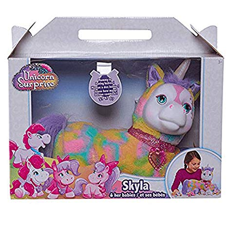 Amazon Com  Exclusive Toys R Us Unicorn Surprise Stuffed Figure