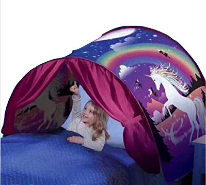 Amazon Com  Foldable Unicorn Bed Tent From Chunks Of Charm  Home