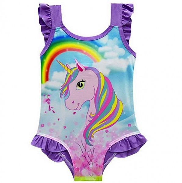 Amazon Com  Fribro Baby Swimsuit Children's Unicorn Bathing Suit