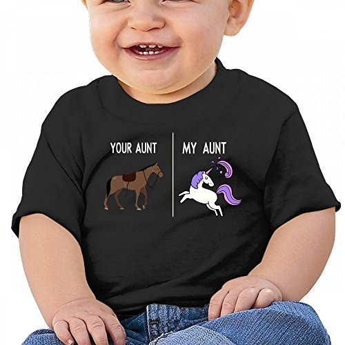 Amazon Com  Funny Horse Unicorn Your Aunt My Aunt Baby Casual