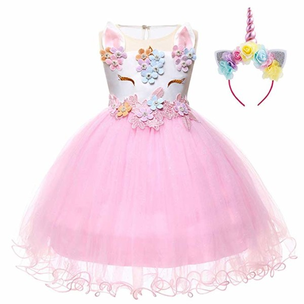 Amazon Com  Fymnsi Baby Girls Princess Unicorn Birthday Party