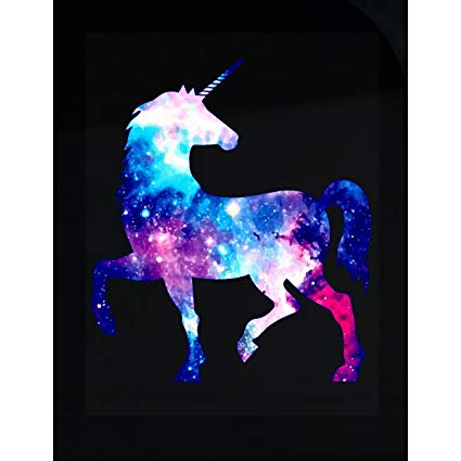 Amazon Com  Green Cow Land Galaxy Unicorn Rainbow Pretty