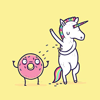 Amazon Com  Hat Shark How Donuts Get Sprinkles Funny Unicorn