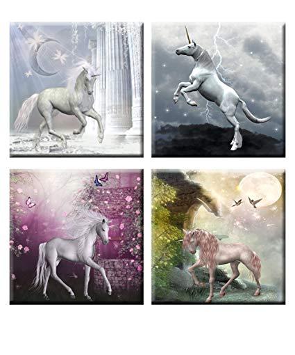 Amazon Com  In Sunshine The Aesthetic Of The Unicorn Frameless