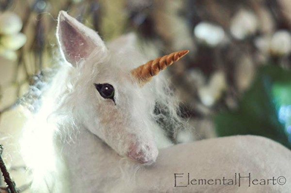 Amazon Com  Large Fantasy Baby Unicorn In Nest ( Wall Hanging