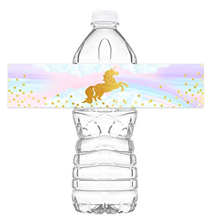 Amazon Com  Magical Unicorn Bottle Wraps