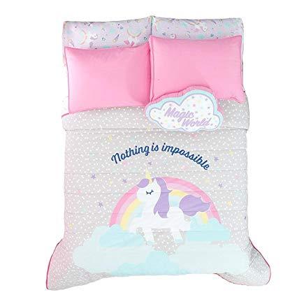 Amazon Com  New Pretty Collection Unicorn Kids Girls Reversible